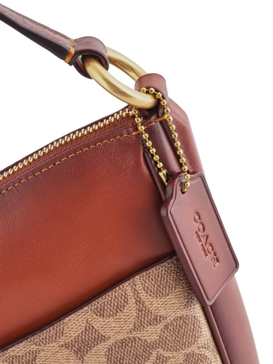 bce468d4786 ... Chaise Signature Crossbody Bag Coach Brown chaise 38579 other view 2 ...