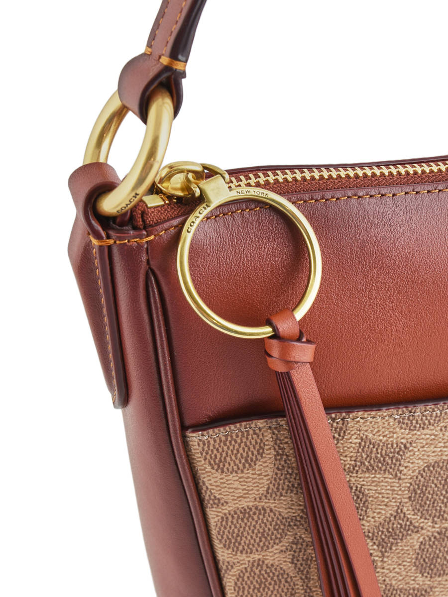 432acff6e94 ... Chaise Signature Crossbody Bag Coach Brown chaise 38579 other view 1 ...