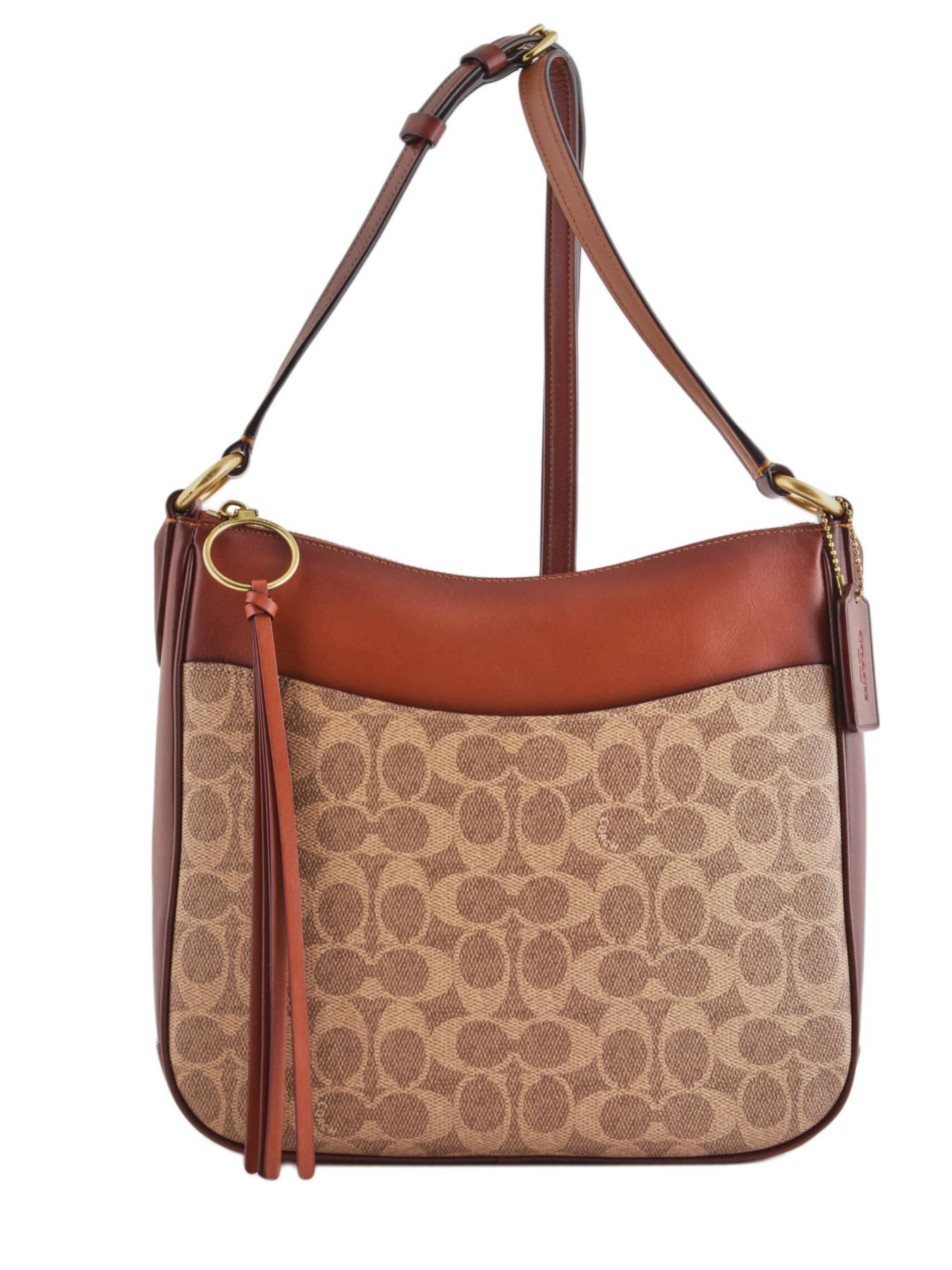 883570f5d9 ... Chaise Signature Crossbody Bag Coach Brown chaise 38579 ...