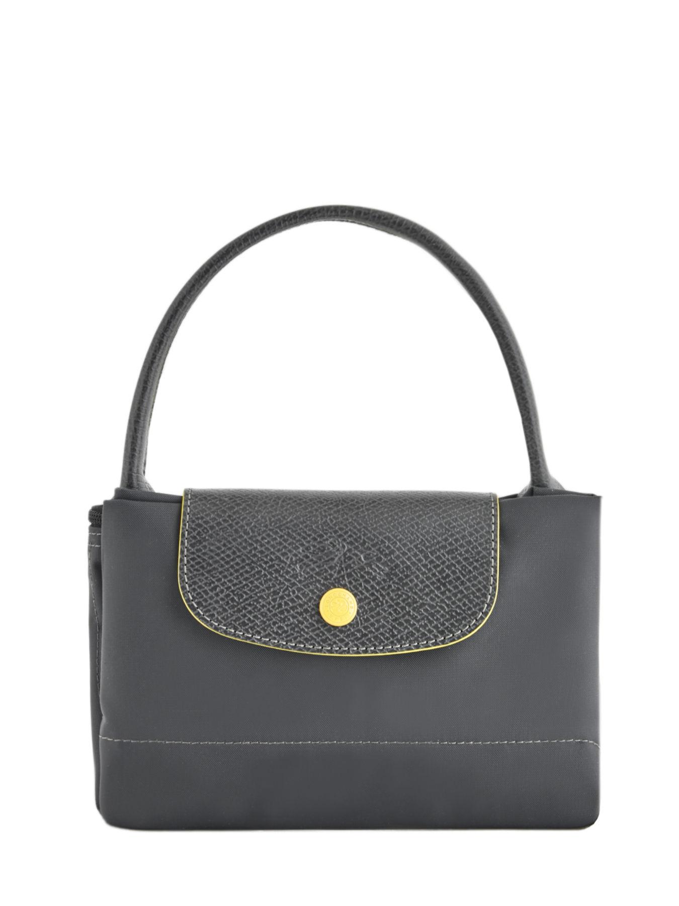 Longchamp Le Pliage Club Handbag Gray