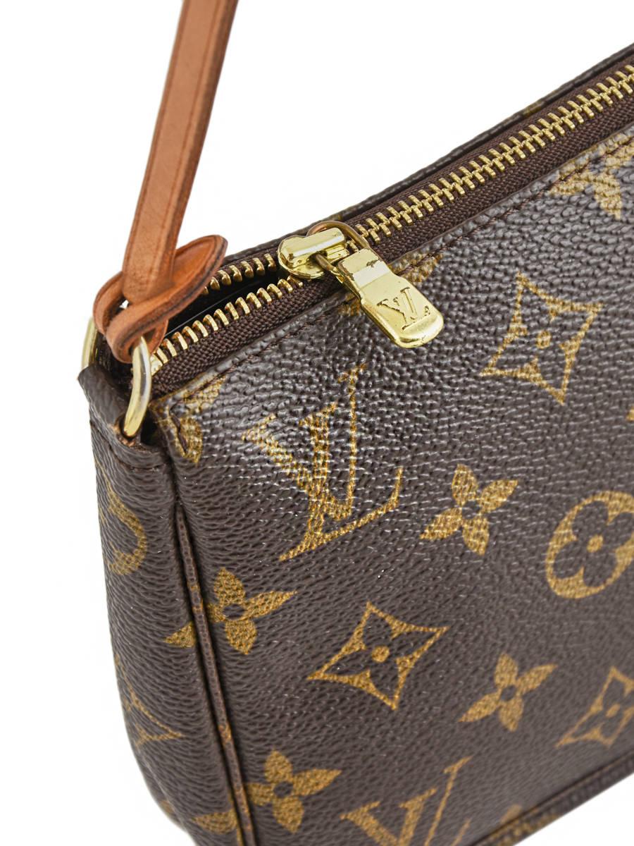 3180fbcf4a9d ... Mini-sac D occasion Louis Vuitton Pouch Monogrammé Brand connection  Marron louis vuitton ...