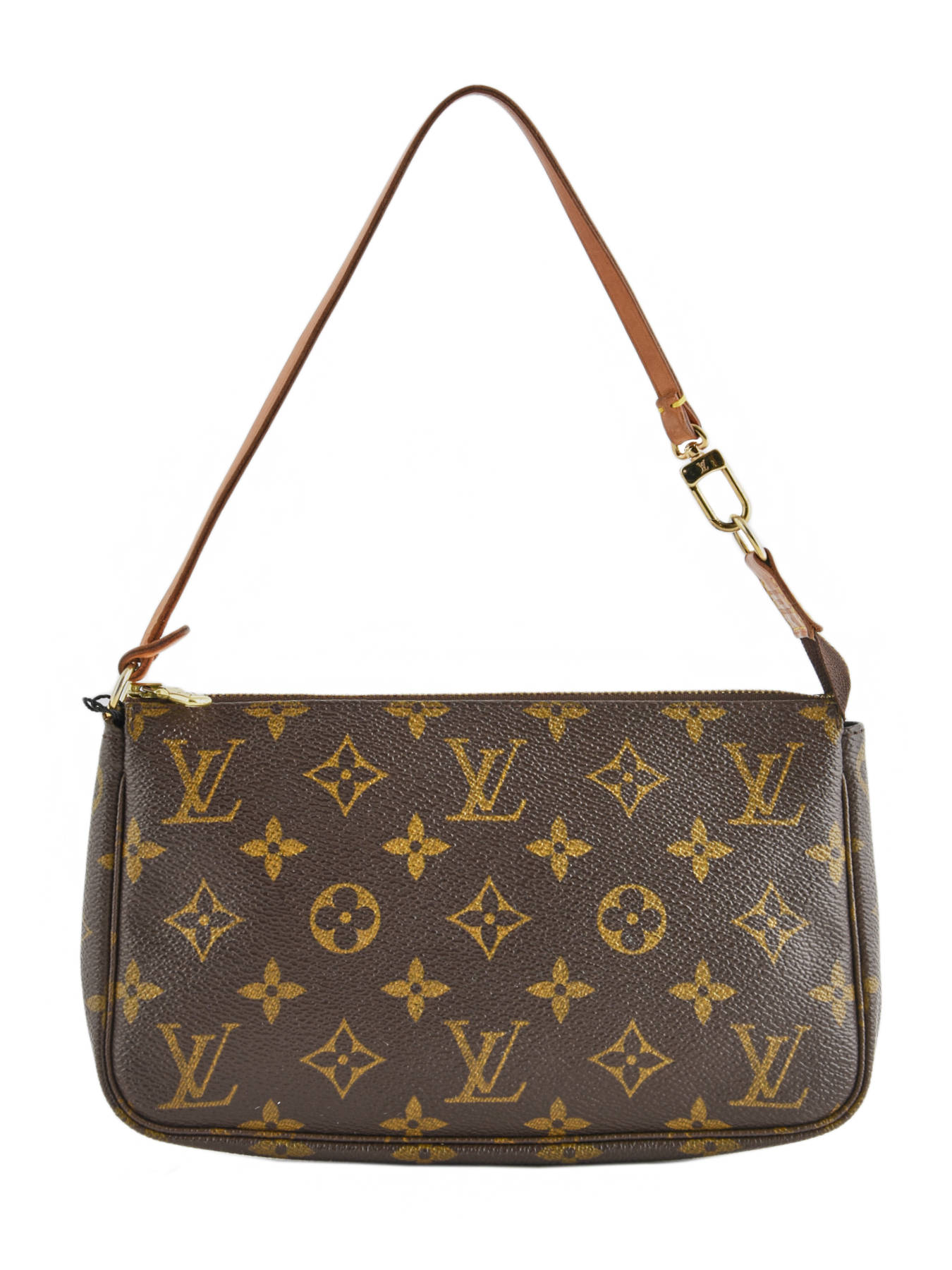 c674b576b4a7 ... Mini-sac D occasion Louis Vuitton Pouch Monogrammé Brand connection  Marron louis vuitton ...