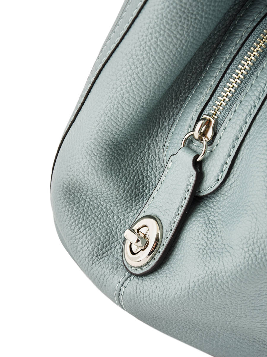 ... Shopper Edie Leather Coach Green edie 36855 other view 2 ... 5c9b5460fc084