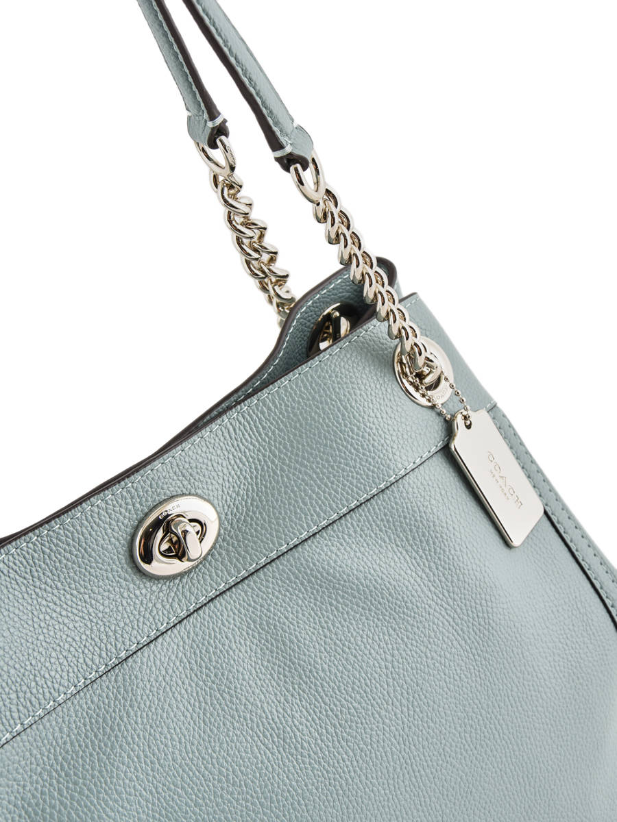 ... Shopper Edie Leather Coach Green edie 36855 other view 1 ... 123ee6e8ee3ea