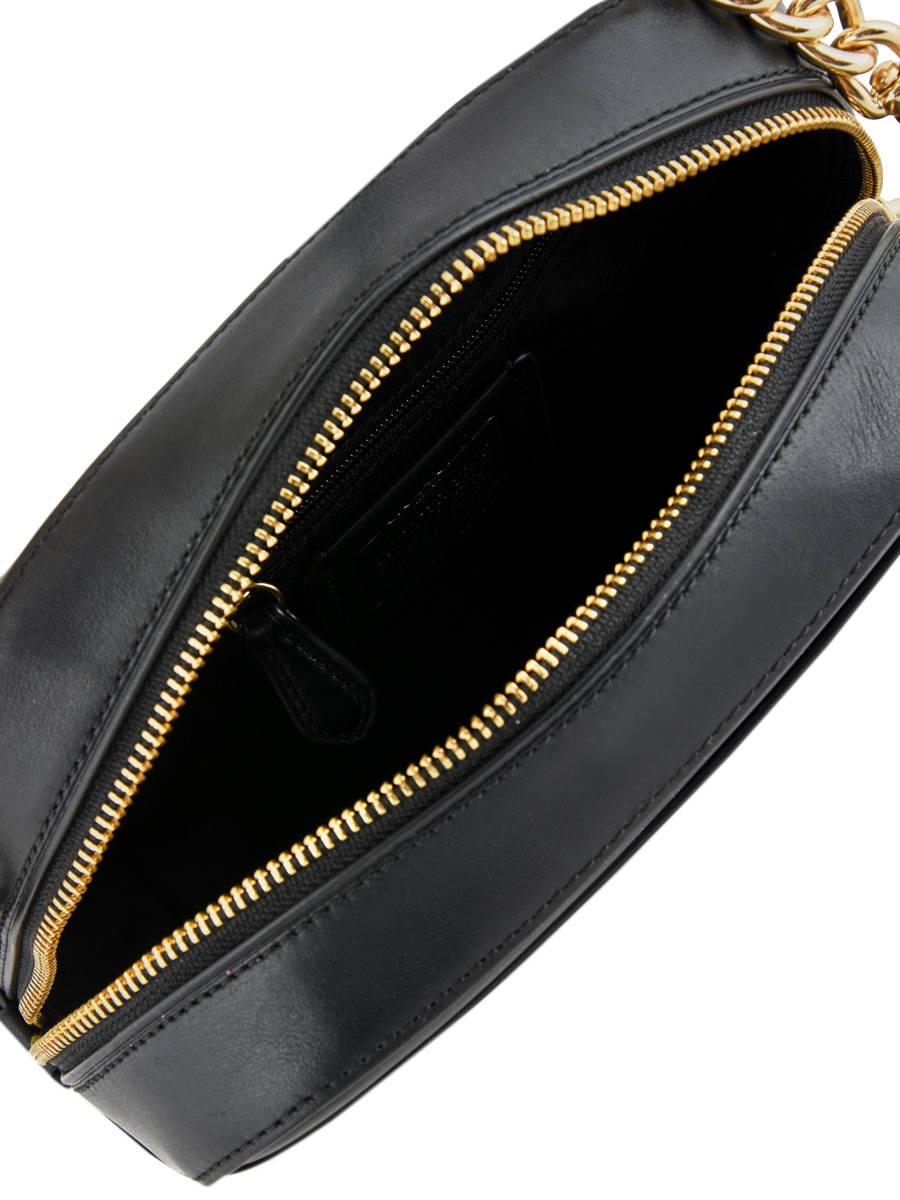 Shoulder Bag Camera Bag Leather Coach Black camera bag 39184 other view 5  ... e6b224d894c0b