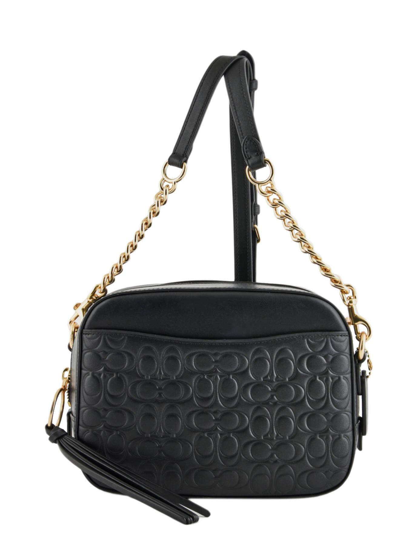 65b743e8a3 ... Shoulder Bag Camera Bag Leather Coach Black camera bag 39184 ...
