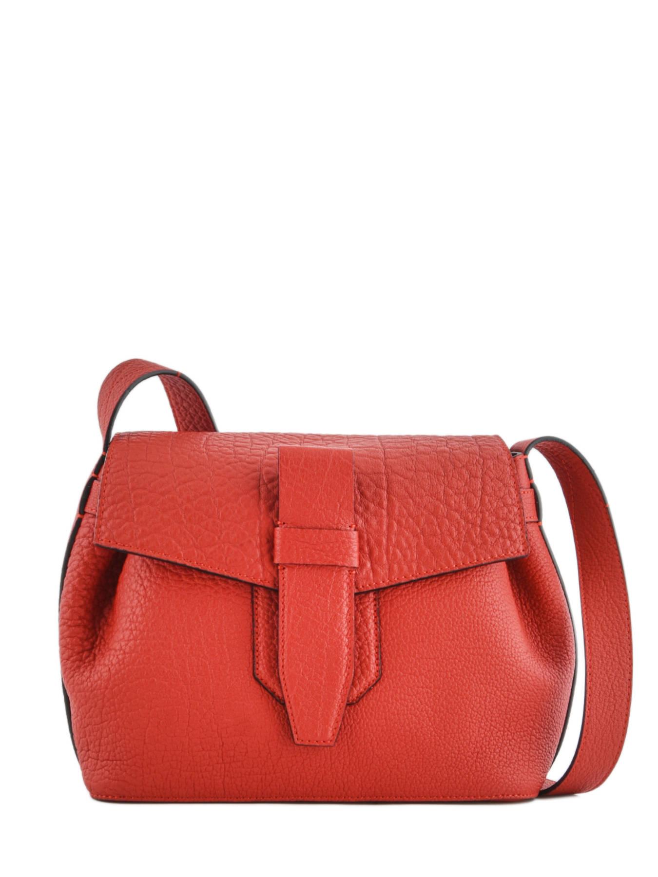 e617c1fb9e91 ... Shoulder Bag Charlie Leather Lancel Red charlie A06839 ...