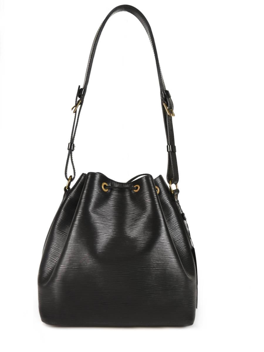 e0224287b0 ... Preloved Louis Vuitton Bucket Bag Noé Brand connection Black louis  vuitton 181 other view 3 ...