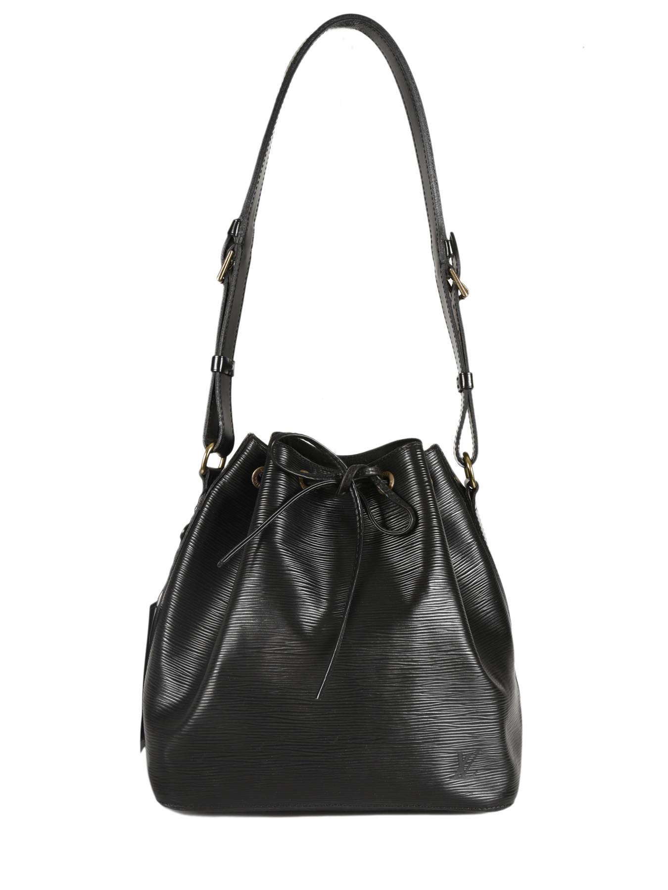 ... Preloved Louis Vuitton Bucket Bag Noé Brand connection Black louis  vuitton 181 ... 45b63403b
