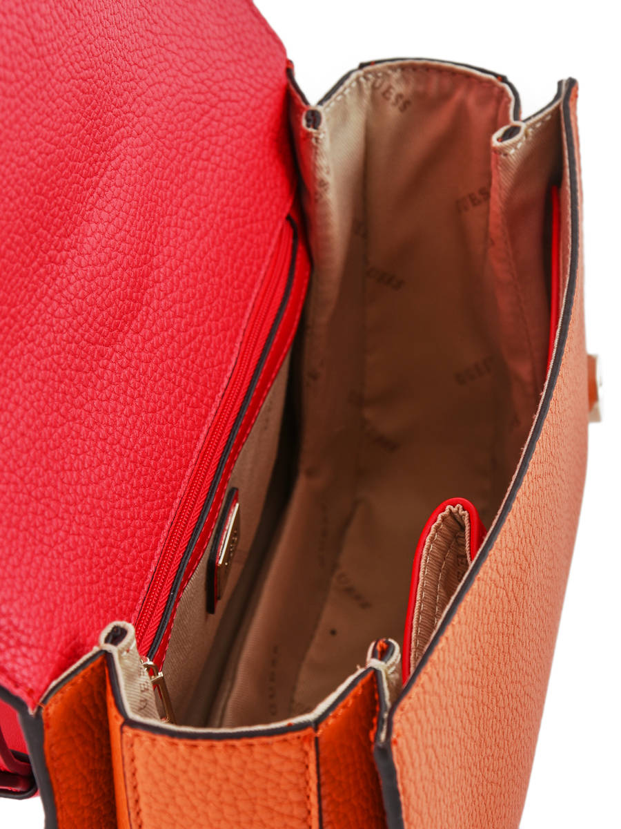 Shoulder Bag La Hip Guess Red la hip VG717118 other view 4 ... 7ded8395c093a