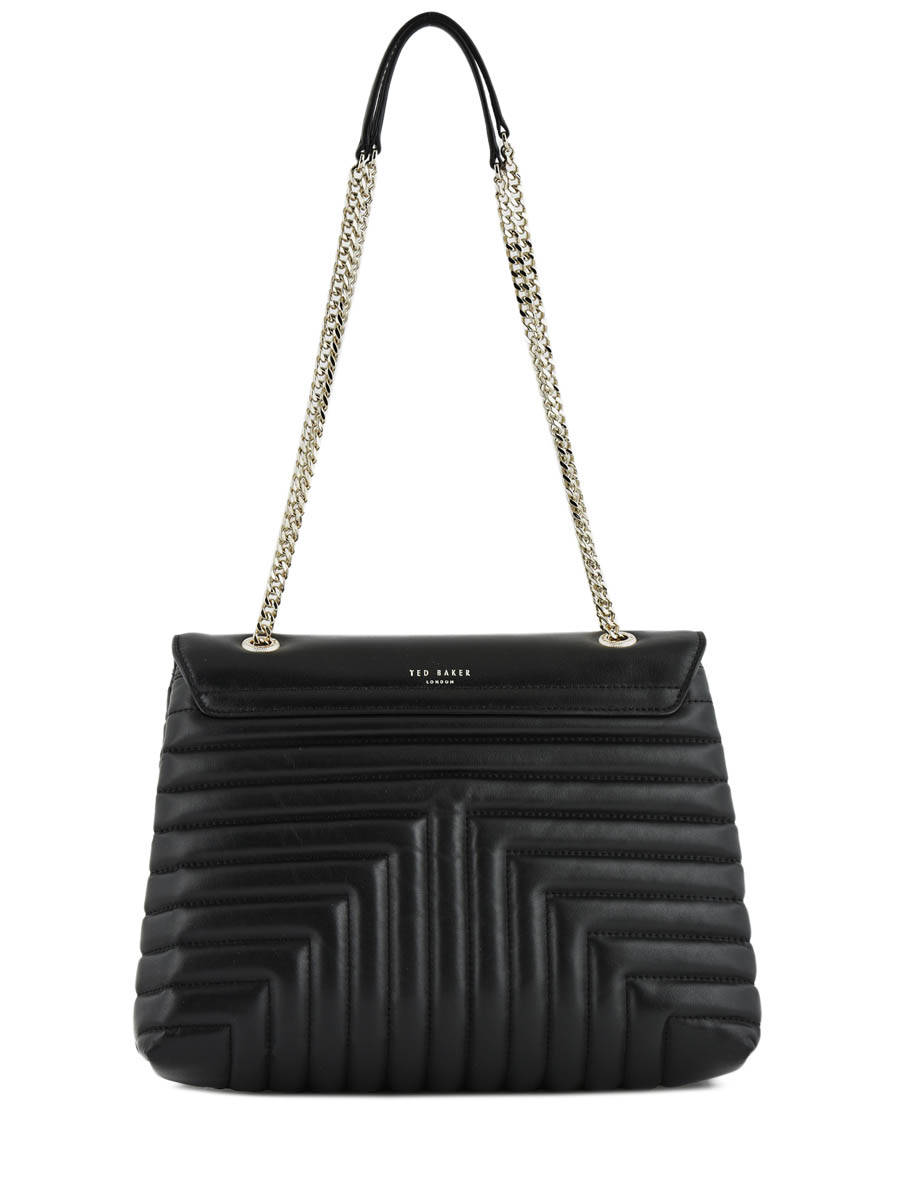 ef3a1dccdcc484 ... Shoulder Bag Quilted Circle Leather Ted baker Black quilted circle  S0FIIEE other view 3 ...