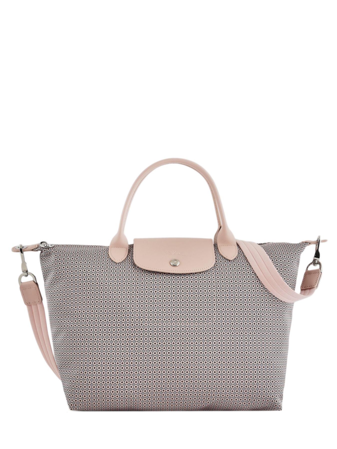 f66c8048427e ... Longchamp Le pliage dandy Handbag Beige ...