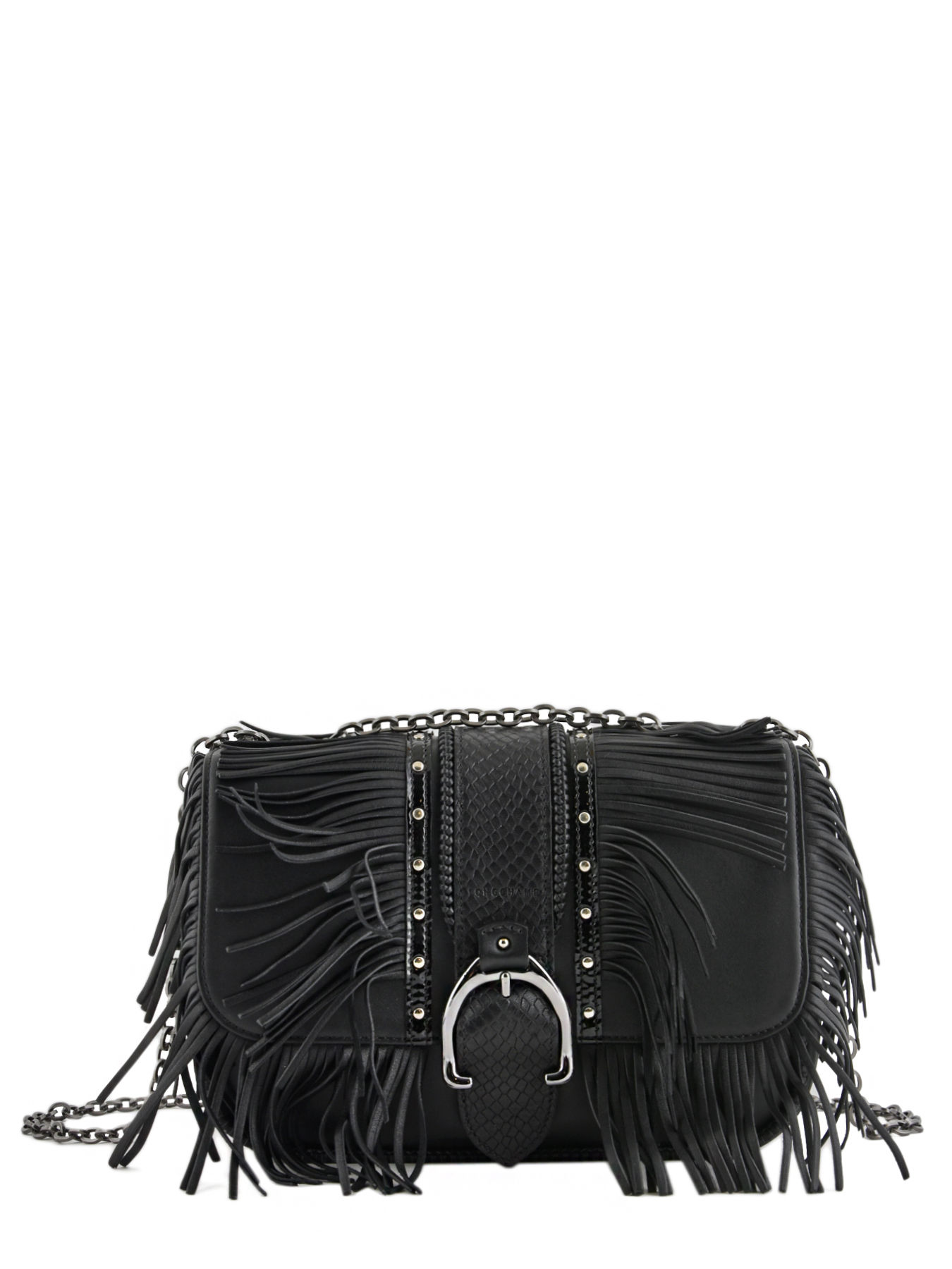 5890837235 ... Longchamp Amazone rock Hobo bag Black ...