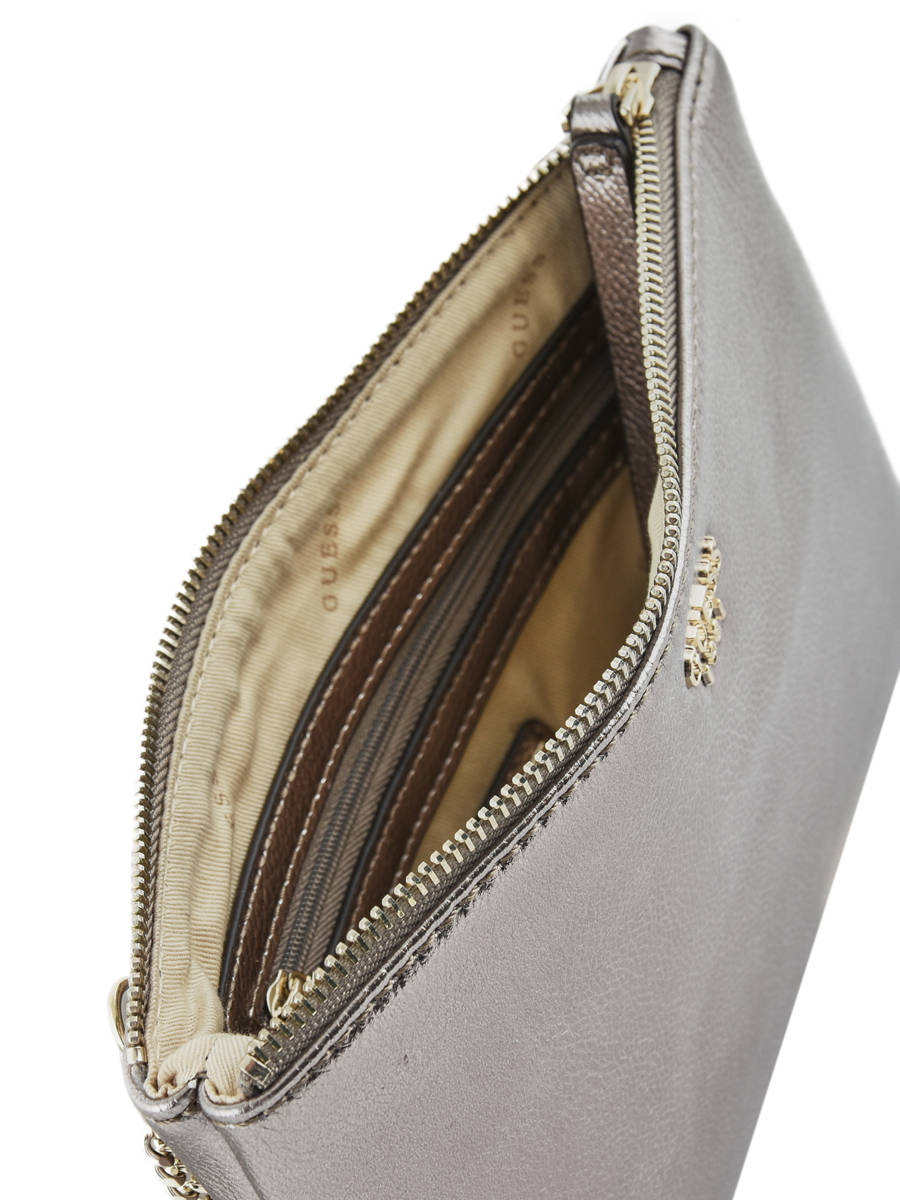 Clutch Guess Silver lynda VG718569 other view 4 ... 484ea63242e91