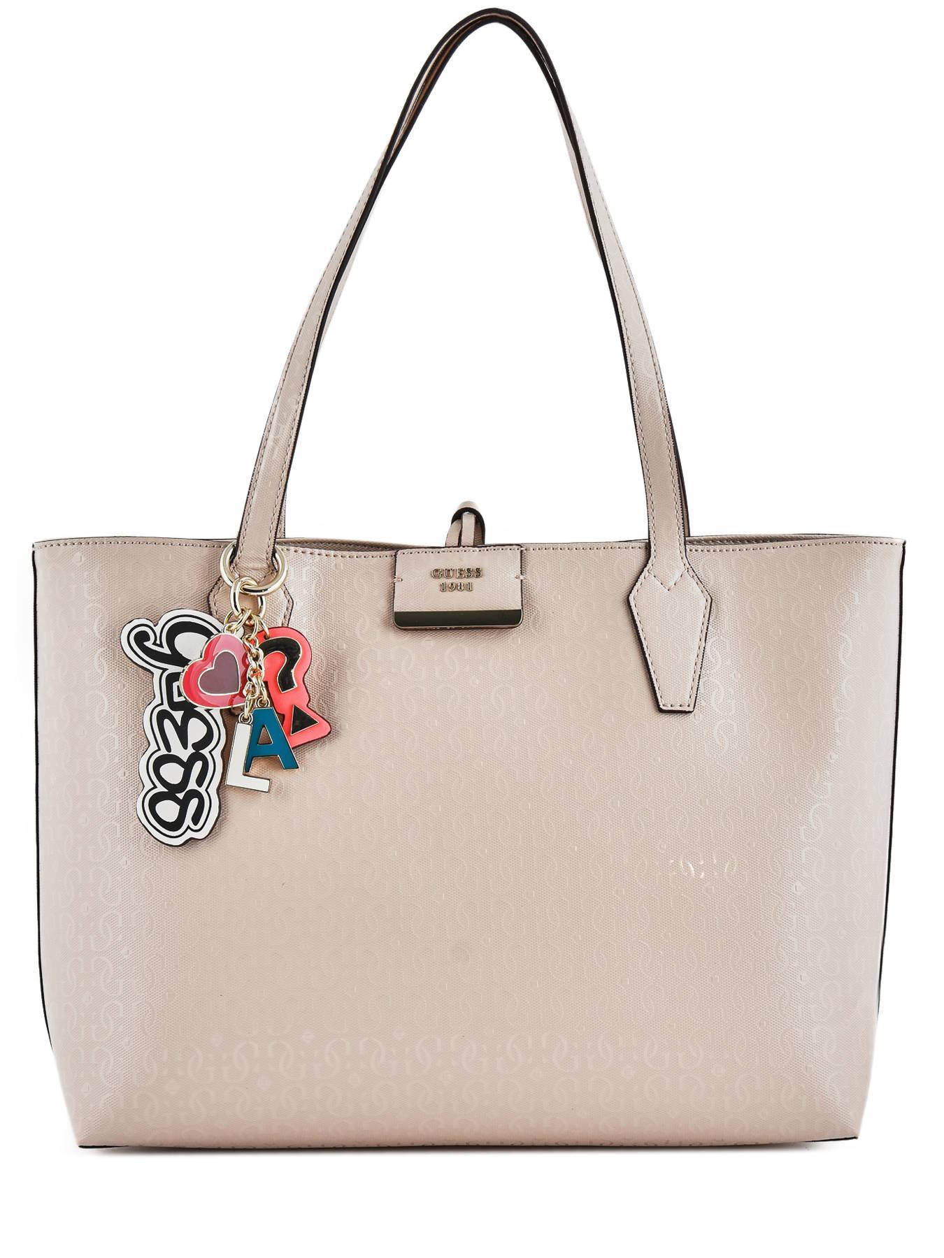 Shoulder Bag Tabbi Guess Pink Sg718115