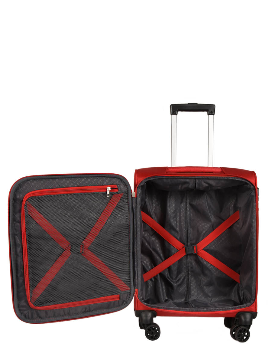 d25ffc4339 Valise Cabine American tourister Rouge summer voyager 29G002 vue secondaire  4 ...