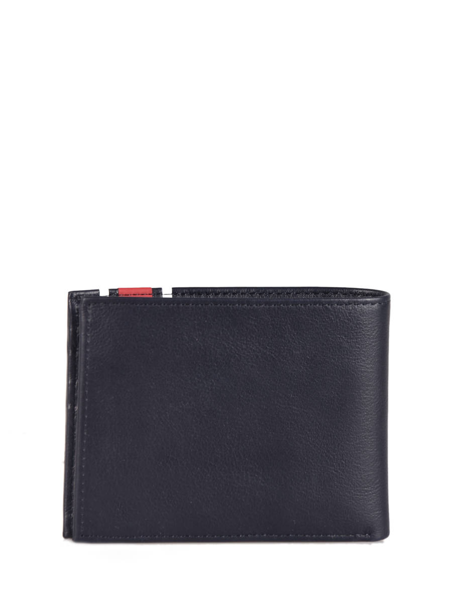4dc404be57 Wallet Leather Tommy hilfiger Blue urban stripe AM04211 other view 2 ...