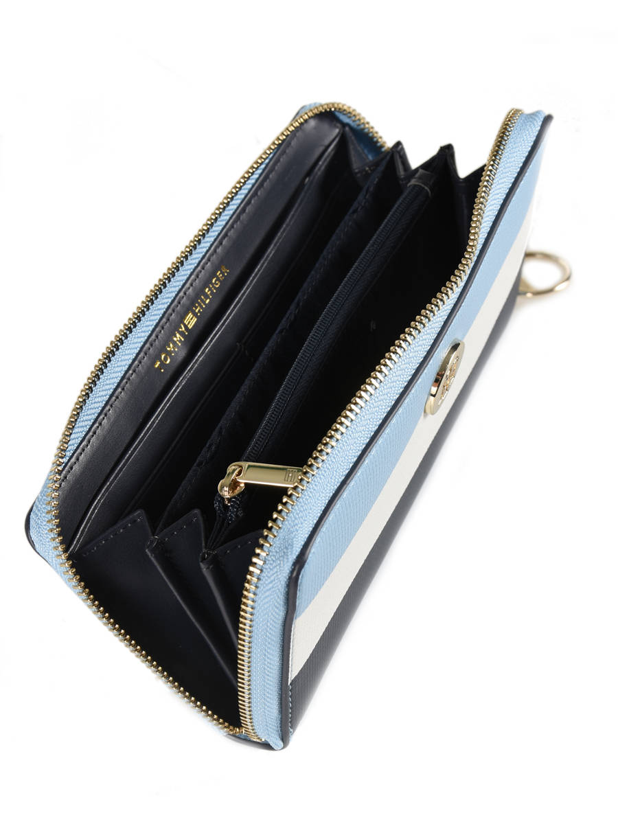 fd9cb83e Wallet Tommy hilfiger Black effortless saffiano AW06152 other view 2 ...