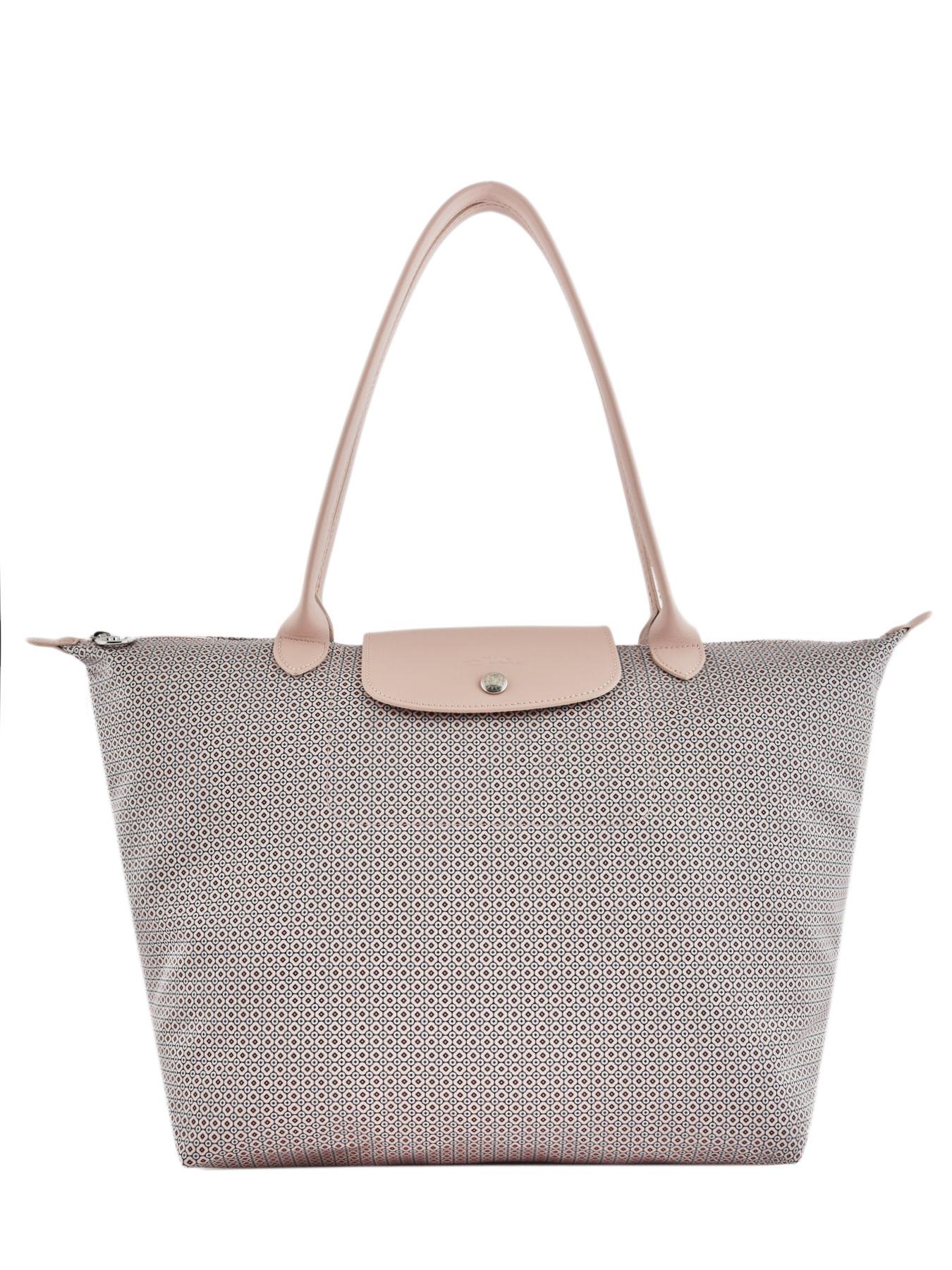 ... Longchamp Le pliage dandy Hobo bag Beige ... a758caa2261f0