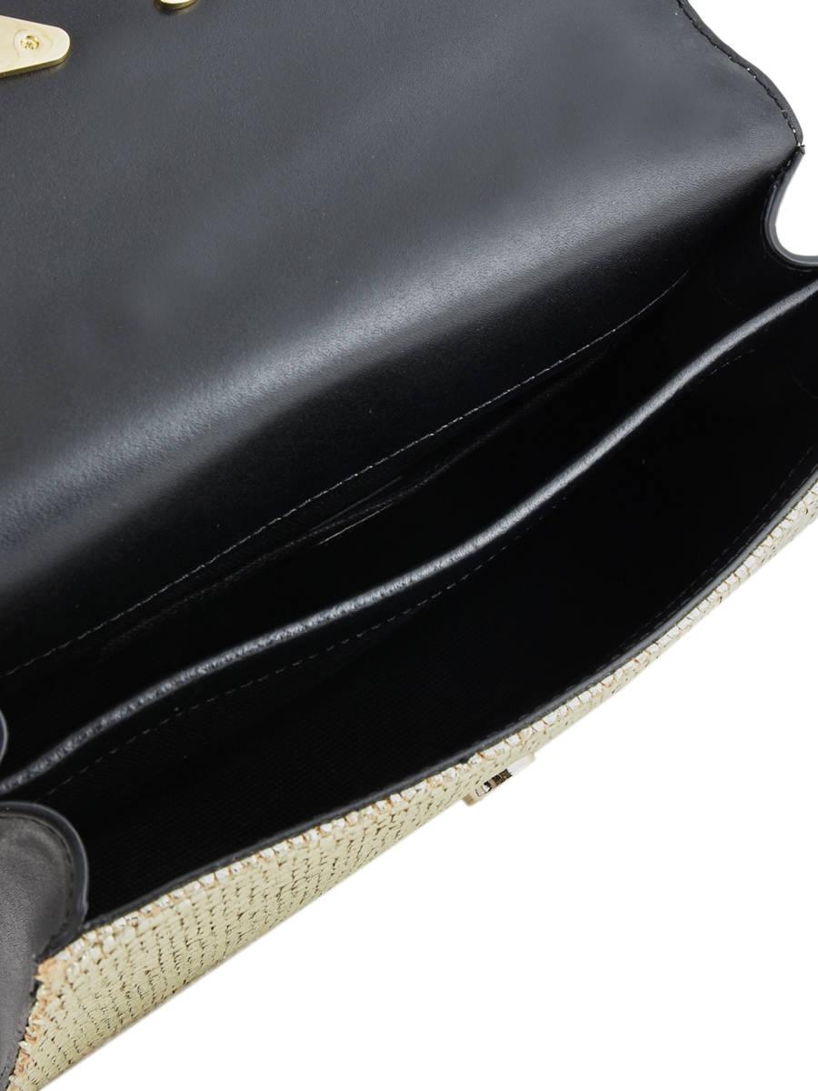 Shoulder Bag Signature Raffia Karl lagerfeld Gold signature raffia 91KW3068  other view 4 ... bedae3cddcc68