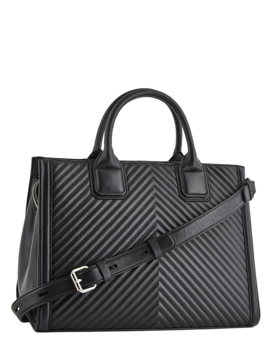 74d20dcd5425 ... 2  Shopping Bag Klassik Quilted Leather Karl lagerfeld Black klassic  quilted 91KW3121 other view 3 ...