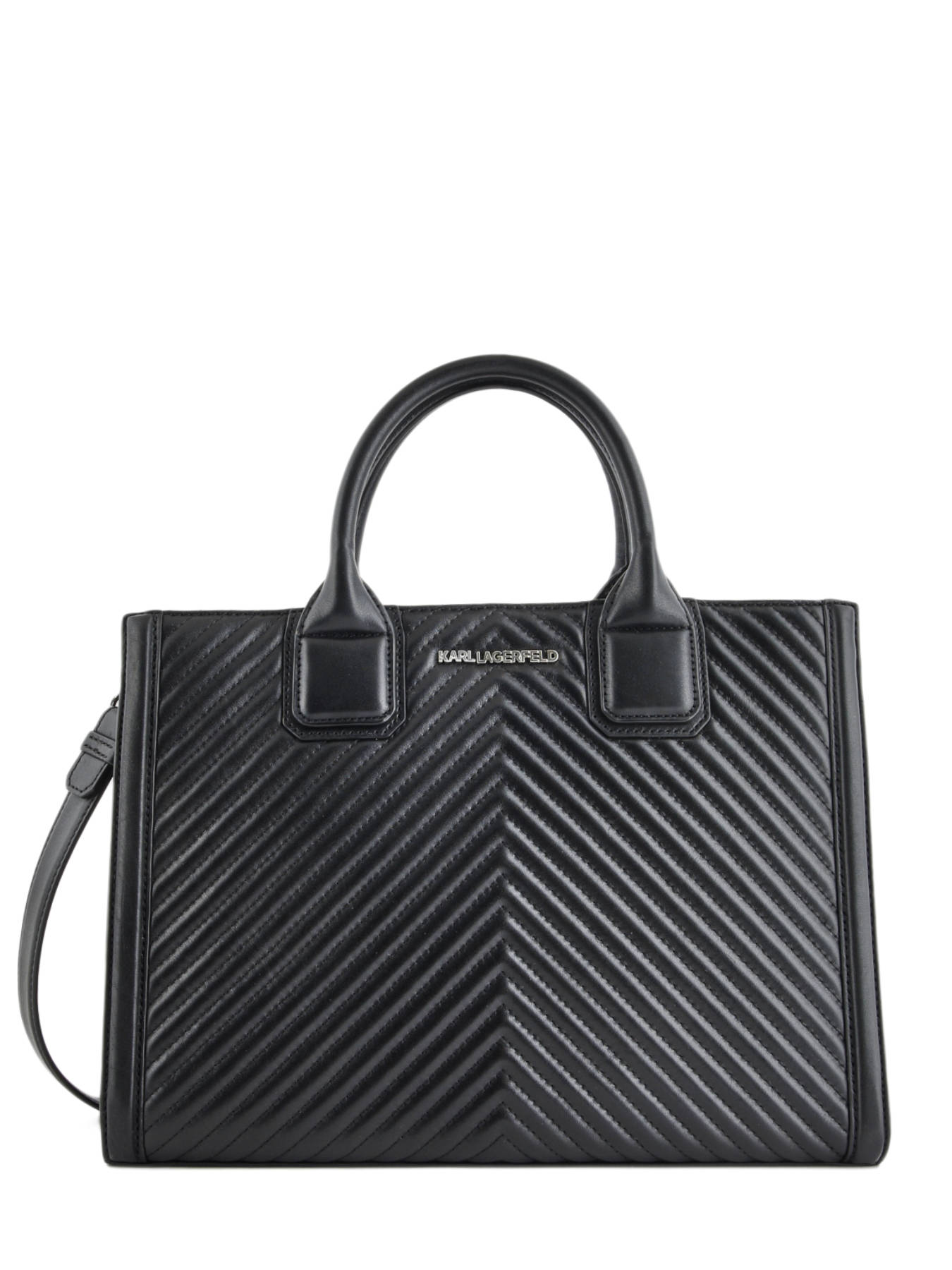 2113f3ea2b69 ... Shopping Bag Klassik Quilted Leather Karl lagerfeld Black klassic  quilted 91KW3121 ...