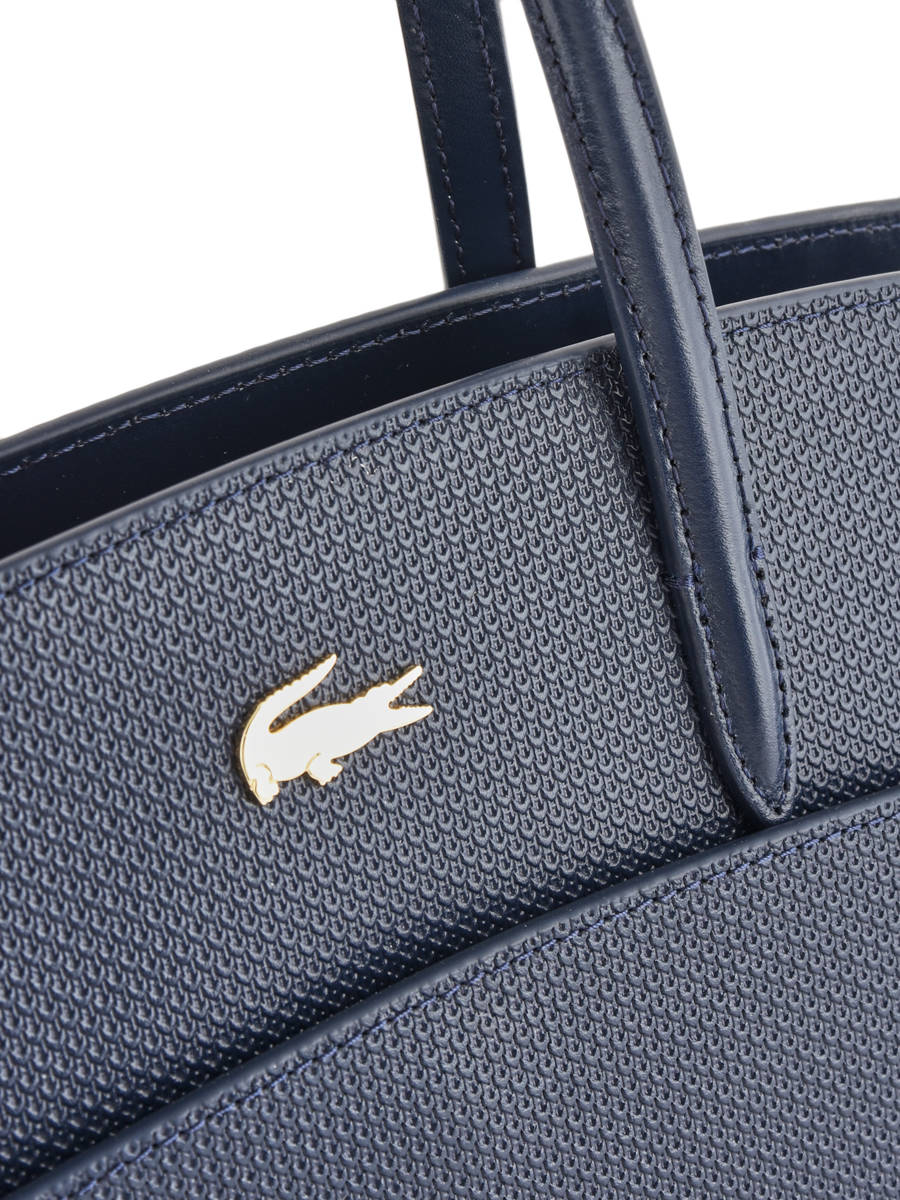 b124e933f97 ... Top Handle Chantaco Leather Lacoste Blue chantaco NF2736CE other view 1  ...