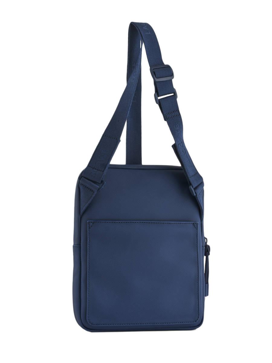 625e54f0bc ... Sac Bandoulière Lacoste Bleu l.12.12 concept NH2885PO vue secondaire 4  ...