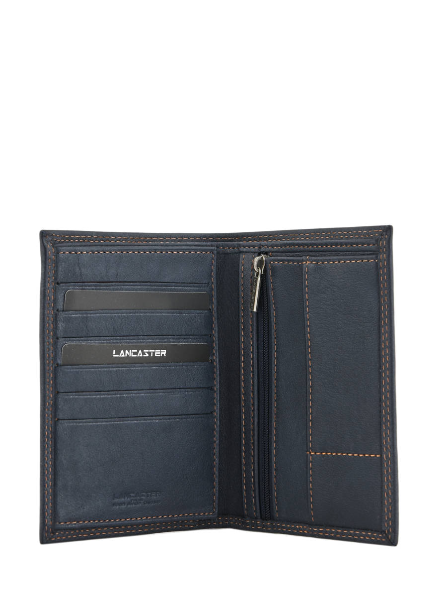 Portefeuille homme Lancaster 120-13 bleu