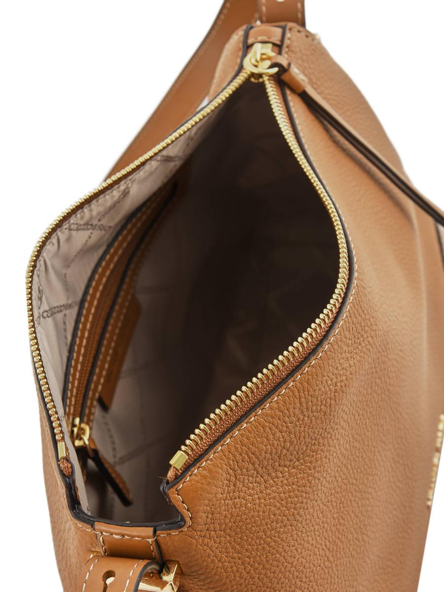 Shoulder bag Crosby leather MICHAEL KORS