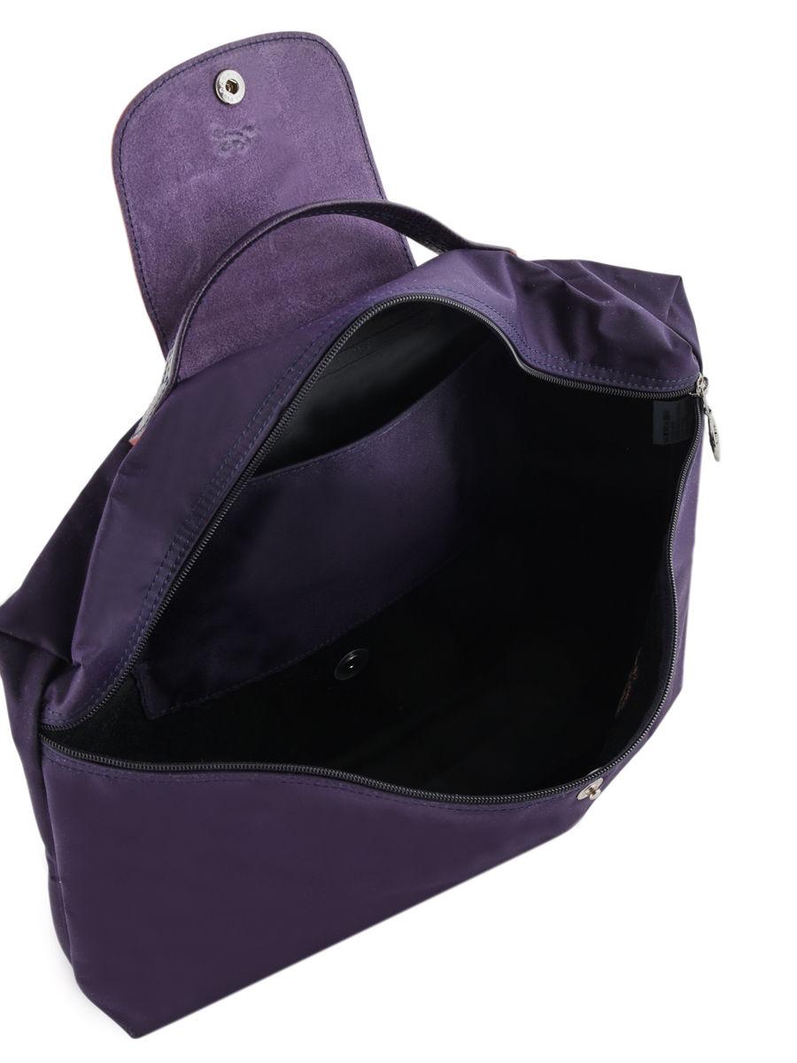d683d1b029 Longchamp Le pliage club Briefcase Violet ...