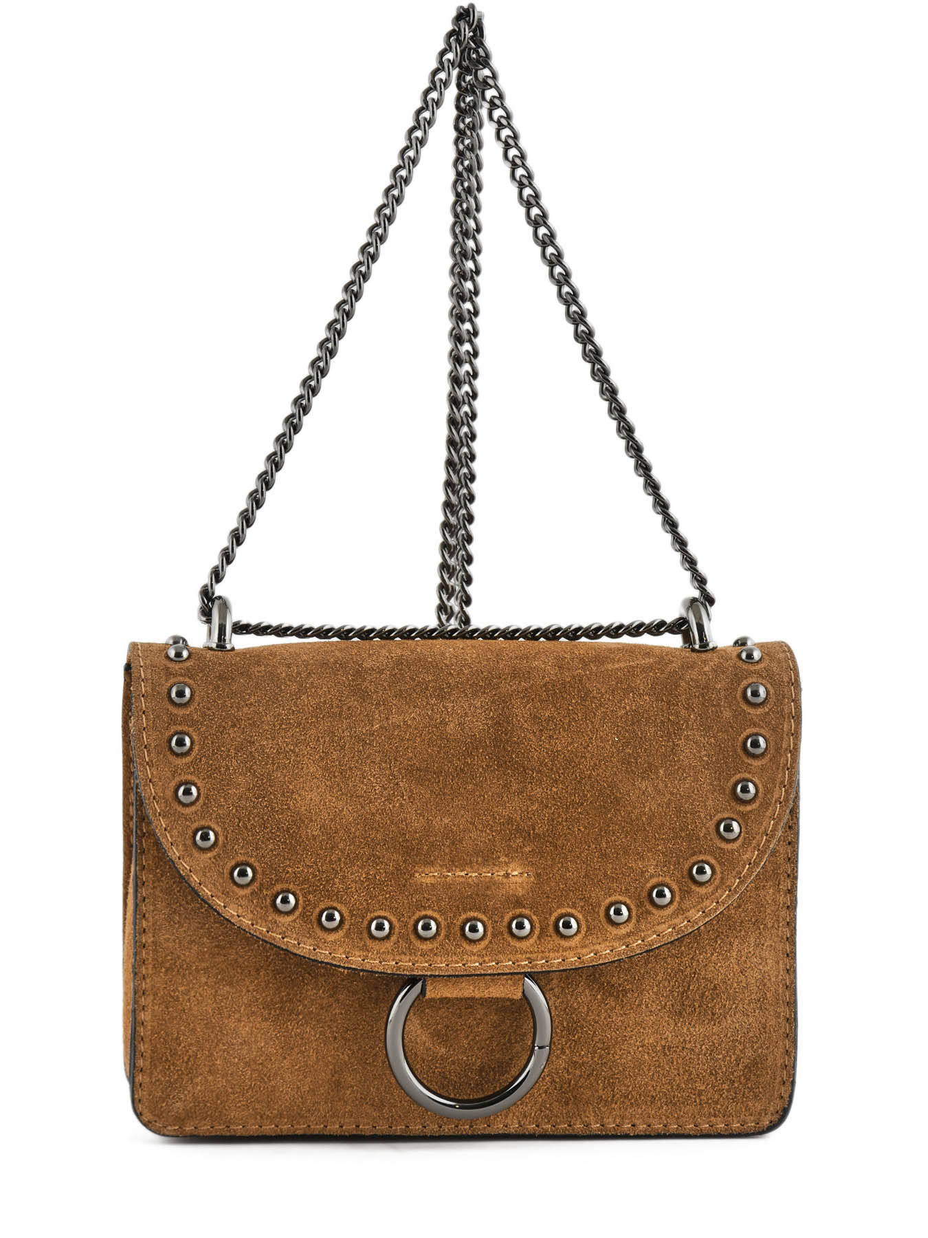 150a82a3d689 ... Crossbody Bag Velvet Leather Milano Brown velvet VC17111 ...