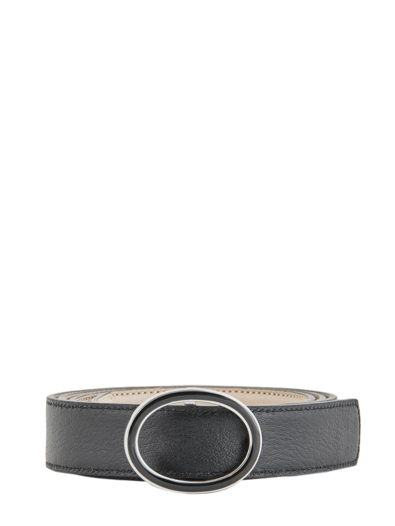 f1494463c14 Ceinture Longchamp 7618737 noir argile en vente au meilleur prix