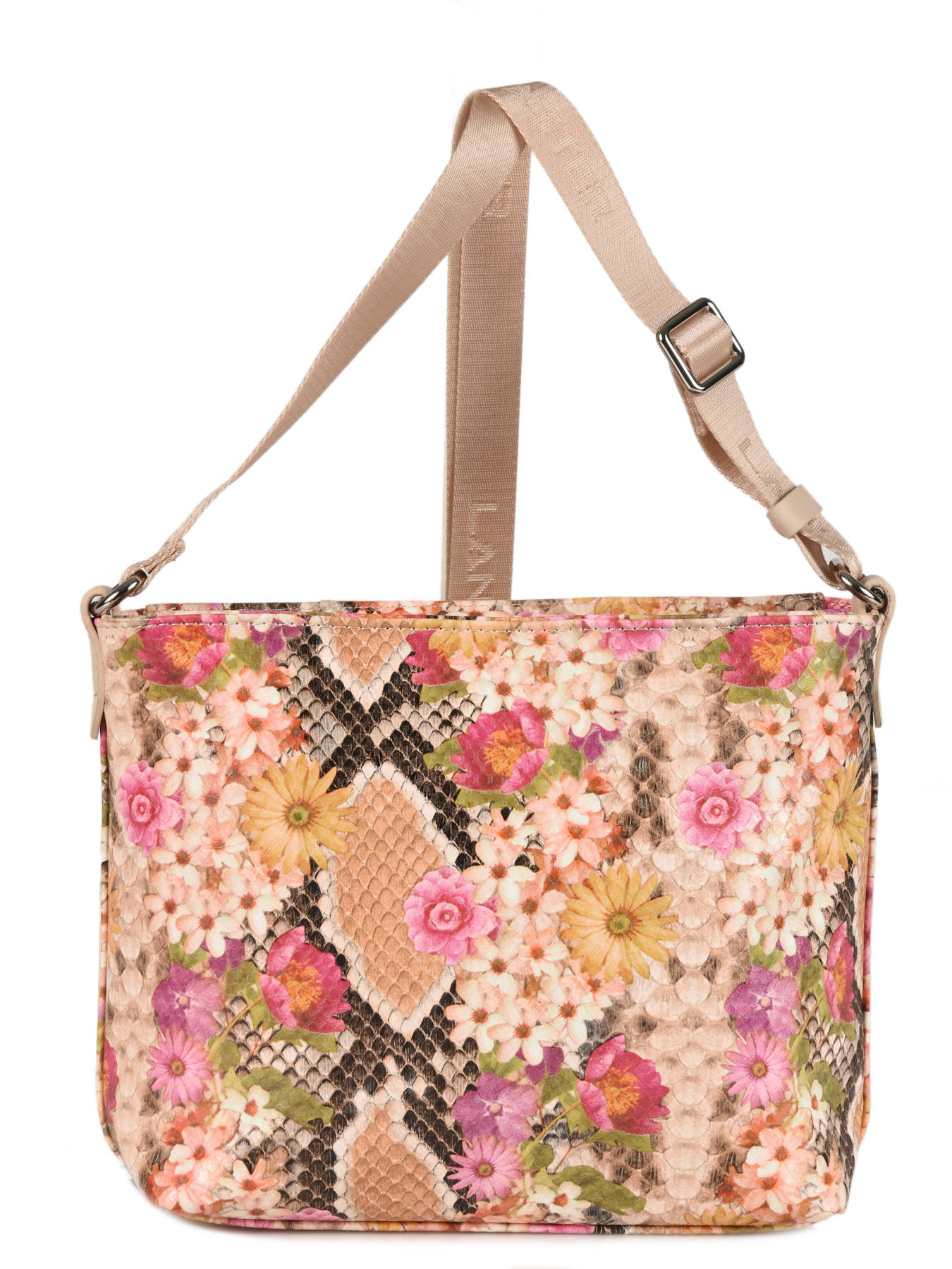 f4a8fc2fba ... Crossbody Bag Maya Exotic Flower Lancaster Multicolor maya exotic  flower 517-68 other view 3 ...