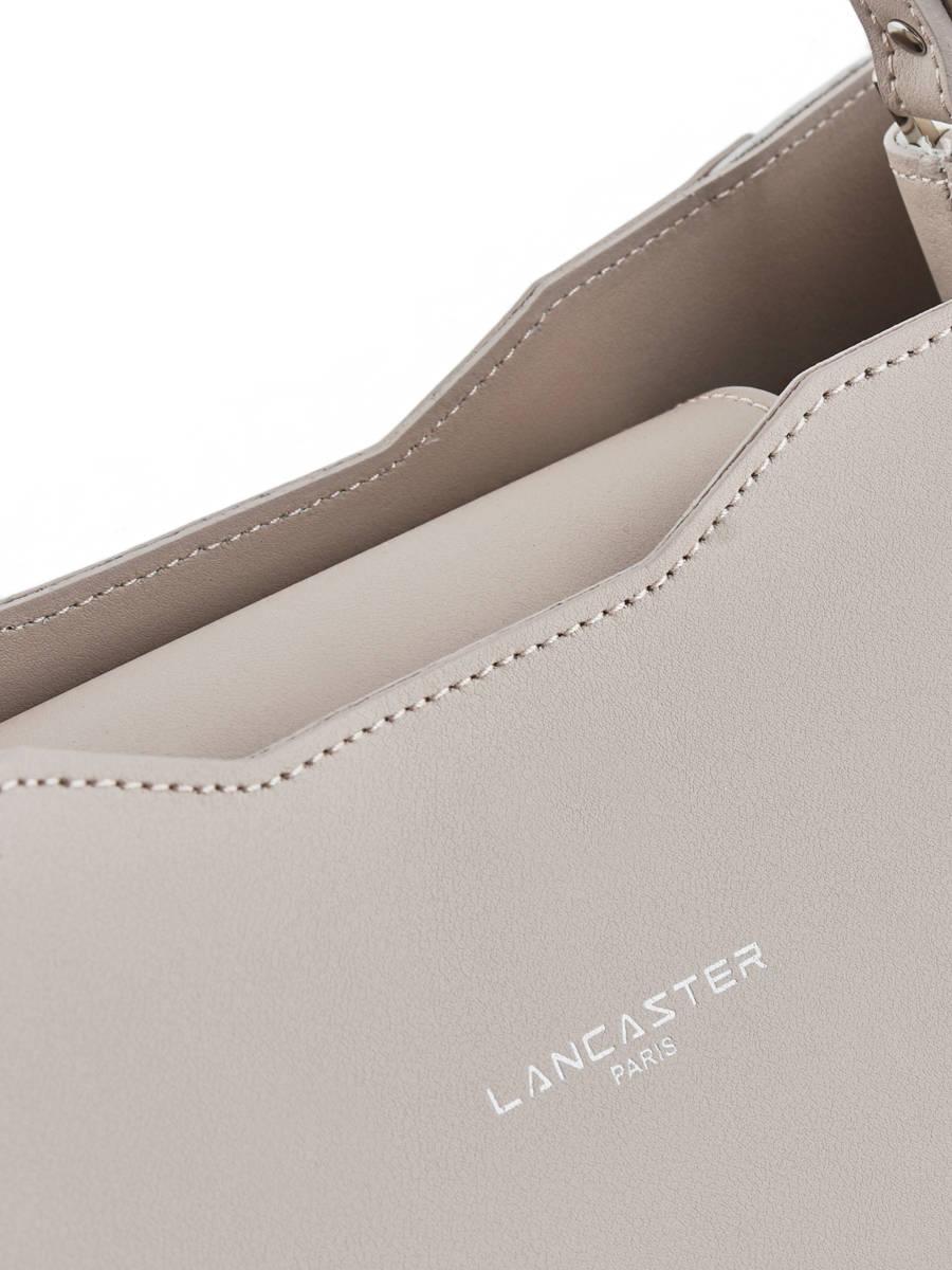 516771b917c7 ... Sac Porté épaule Contrast Rachel Cuir Lancaster Beige contrast rachel  428-20 ...