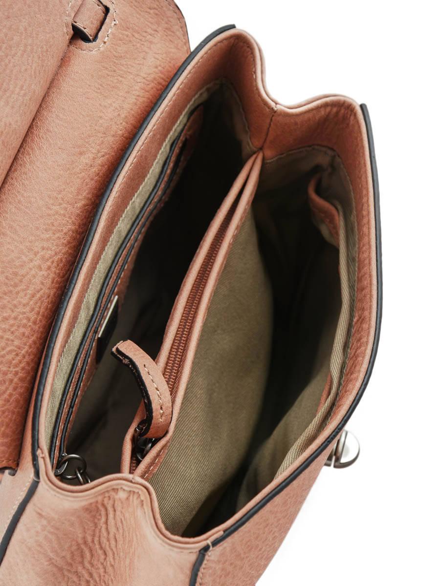 ae845d99c861 Exclusivité Edisac. Sac Bandoulière Casac Cuir Etrier Rose casac ECAS02  vue secondaire 4 ...