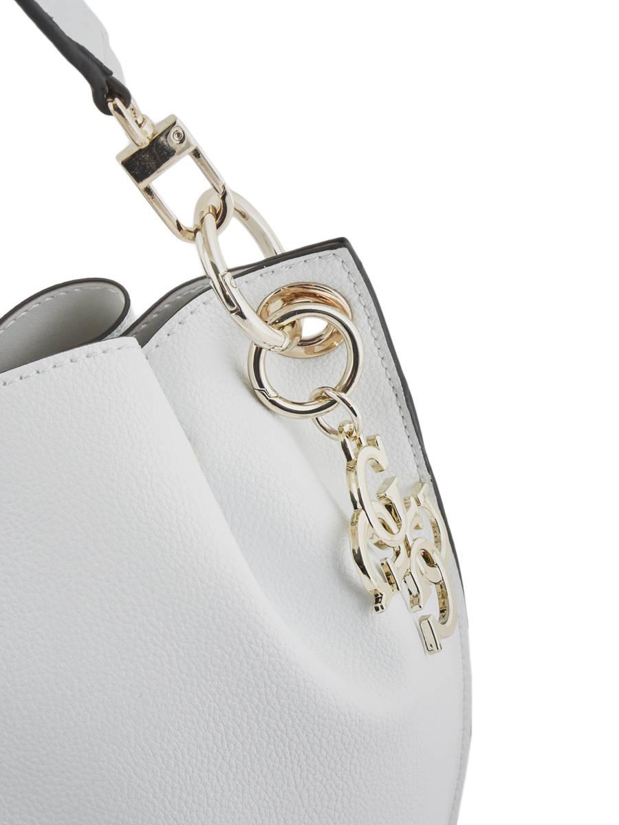 0909967466 ... Sac Porté épaule Digital Guess Blanc digital VG685303 vue secondaire  1 ...