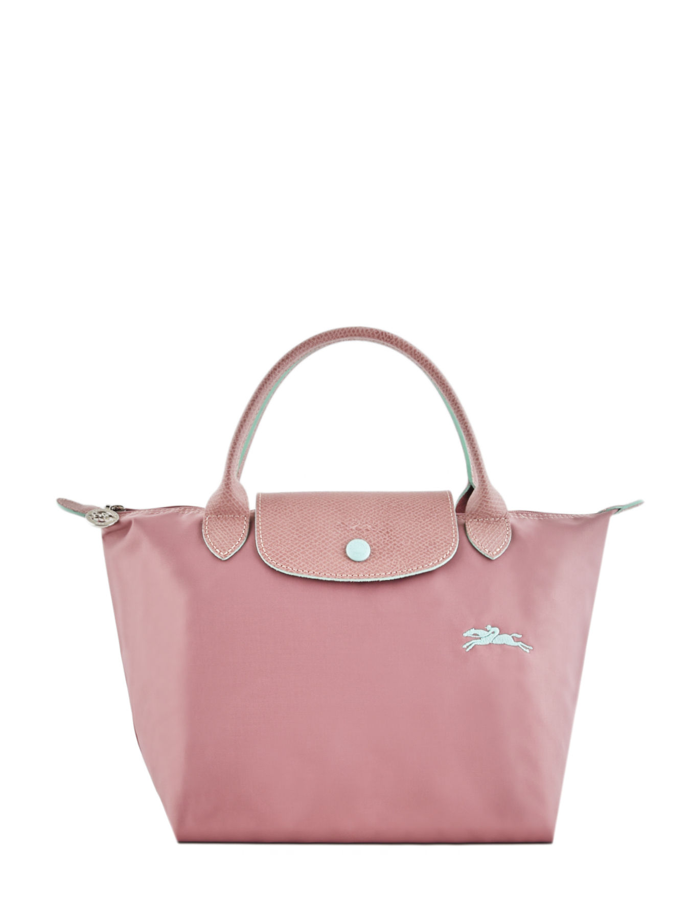 7a1b6800cce ... Longchamp Le pliage club Handbag Pink ...