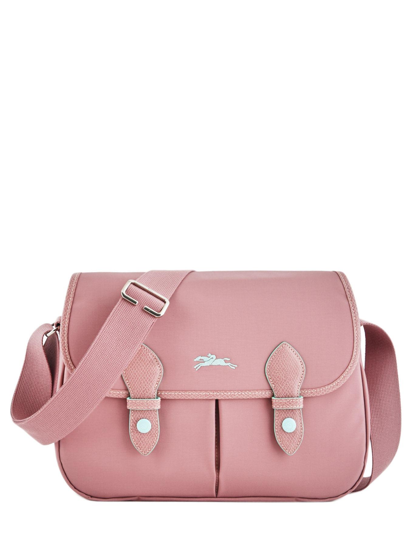 ... Longchamp Le pliage club Hobo bag Pink ... 2a8effa794237