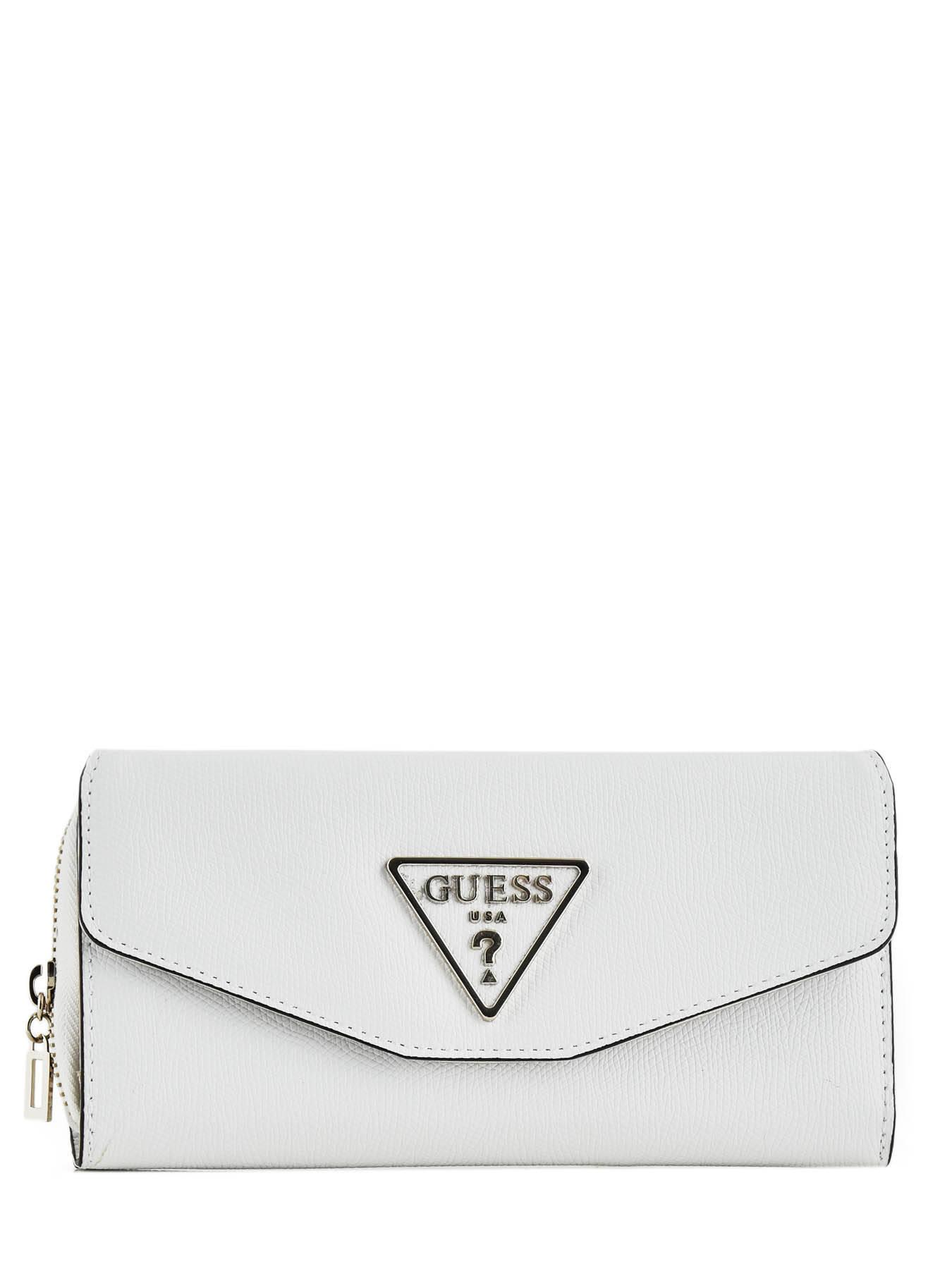 e25f413002 Portefeuille Guess SWVG.7291620 white en vente au meilleur prix
