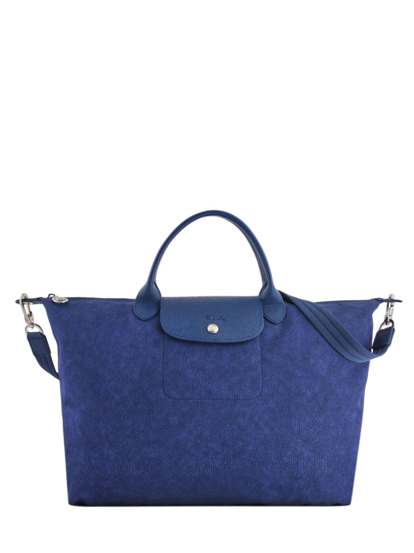 ... Longchamp Le pliage nÉo jean s Handbag Black ... 7034078360d34