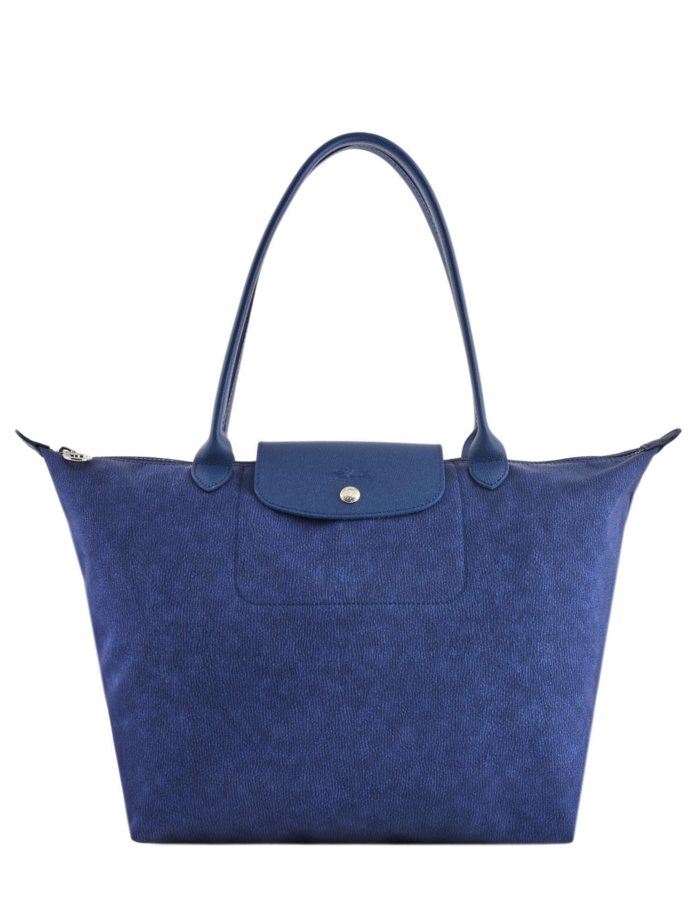 ... Longchamp Le pliage nÉo jean s Hobo bag Black ... 4189a5a84c678