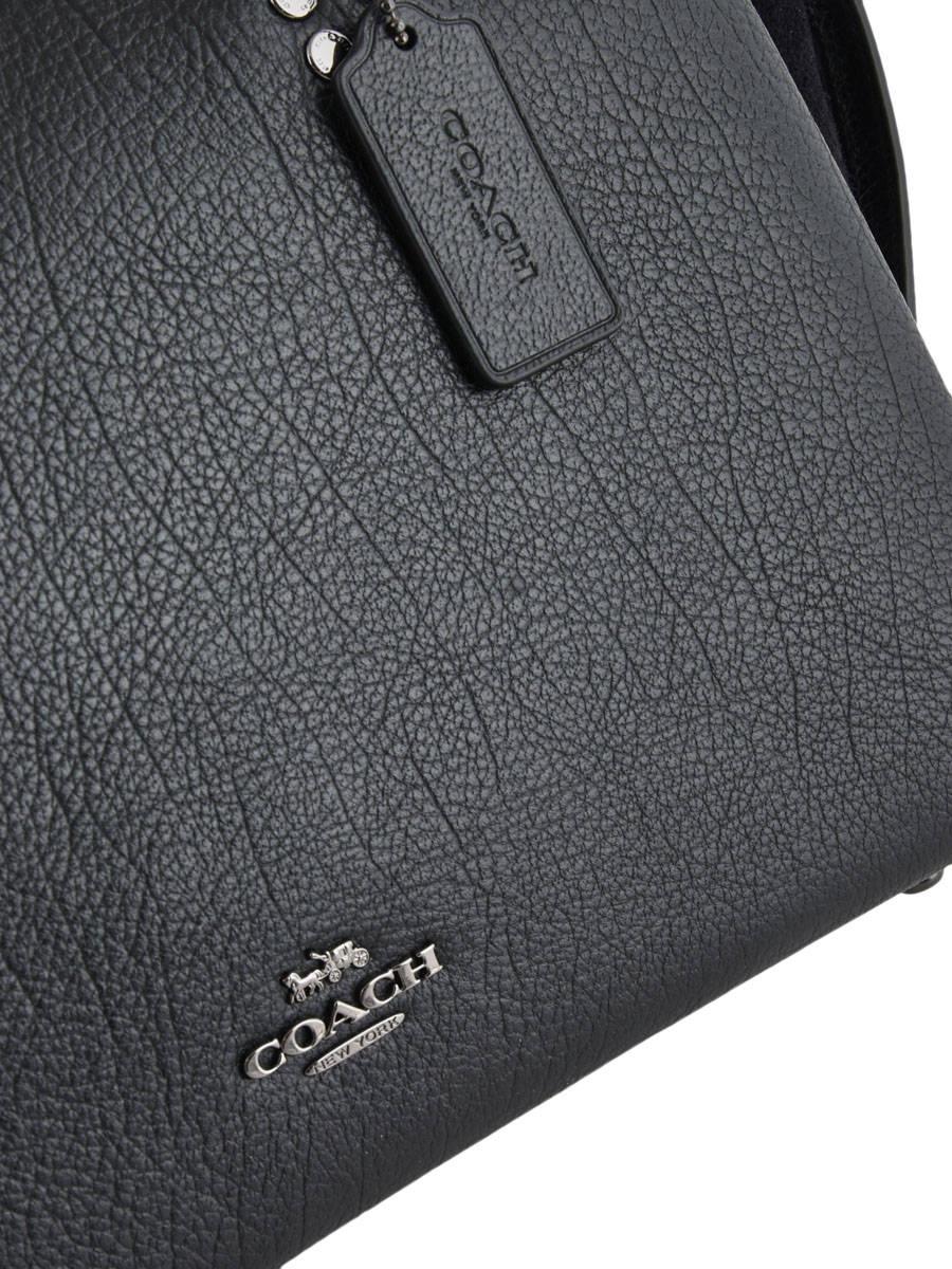 sac port main coach 40862 black en vente au meilleur prix. Black Bedroom Furniture Sets. Home Design Ideas