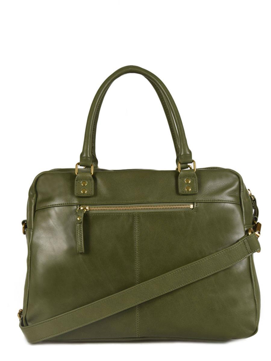 3c4d53af48 ... Shopping Bag Vintage Leather Nat et nin Beige vintage MACY other view 3  ...