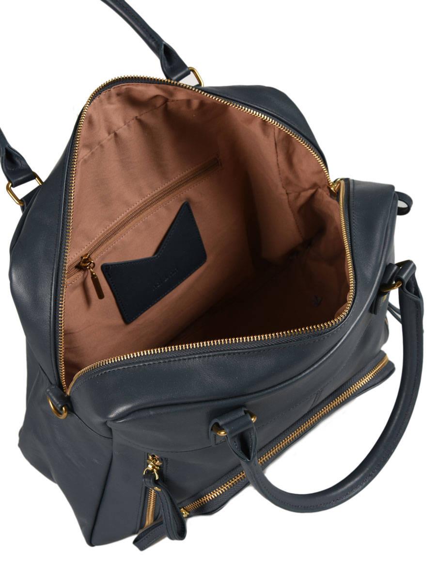 3d34e5123905 Shopping Bag Vintage Leather Nat et nin Beige vintage MACY other view 4