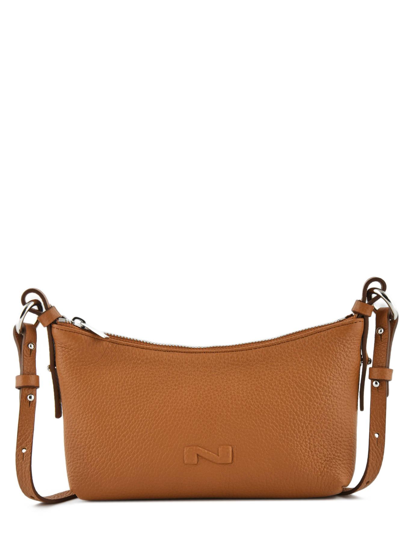 ffbc1349337a ... Shoulder Bag Ideal Leather Nathan baume Brown n city N1721048 ...