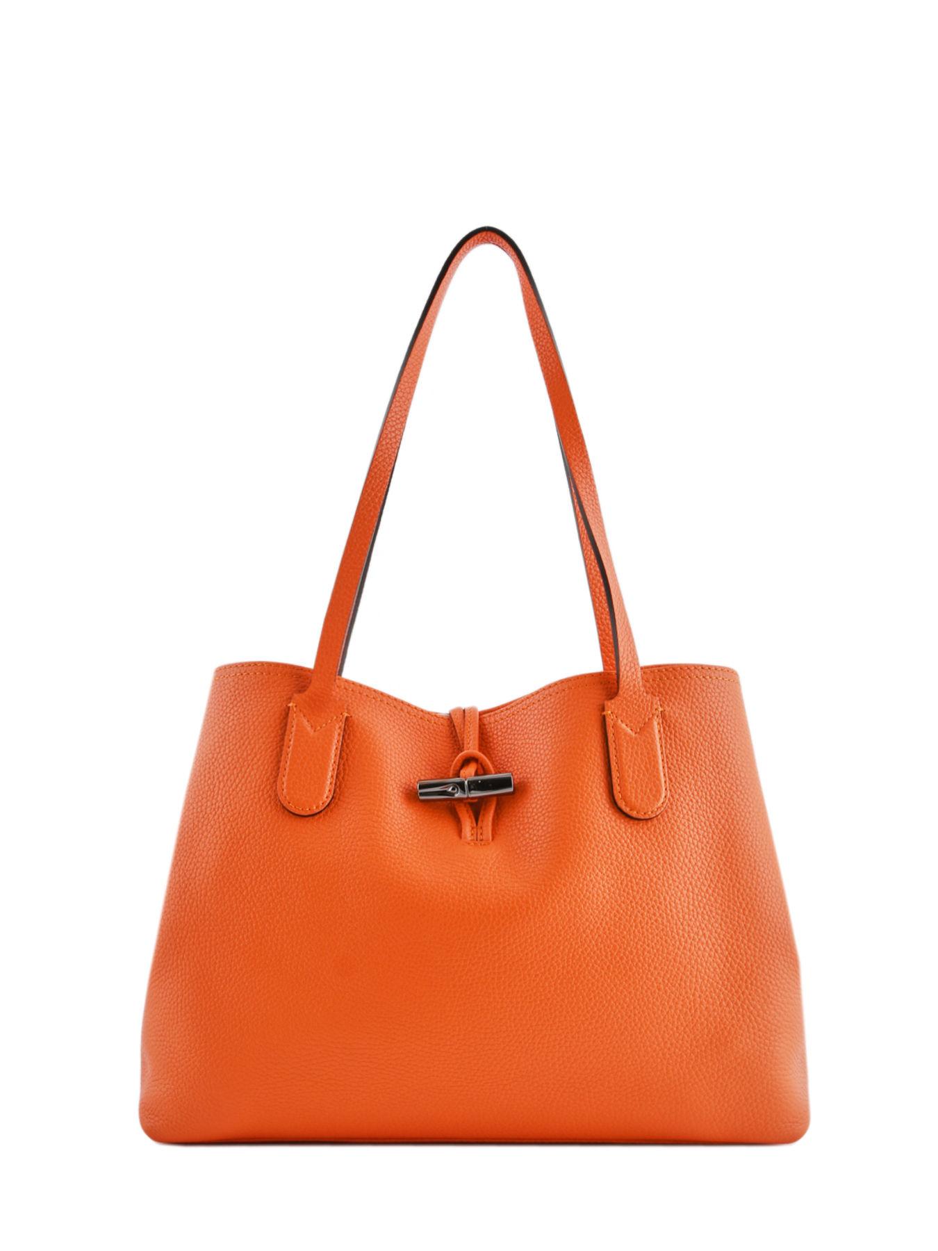 1fb46e49149 ... Longchamp Roseau essential Hobo bag Orange ...