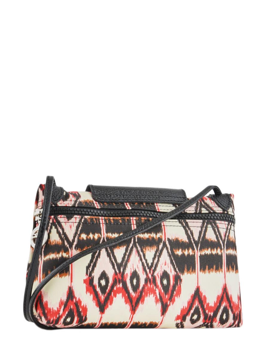 ... Longchamp Le pliage ikat Messenger bag Beige ... 53402d7b46456