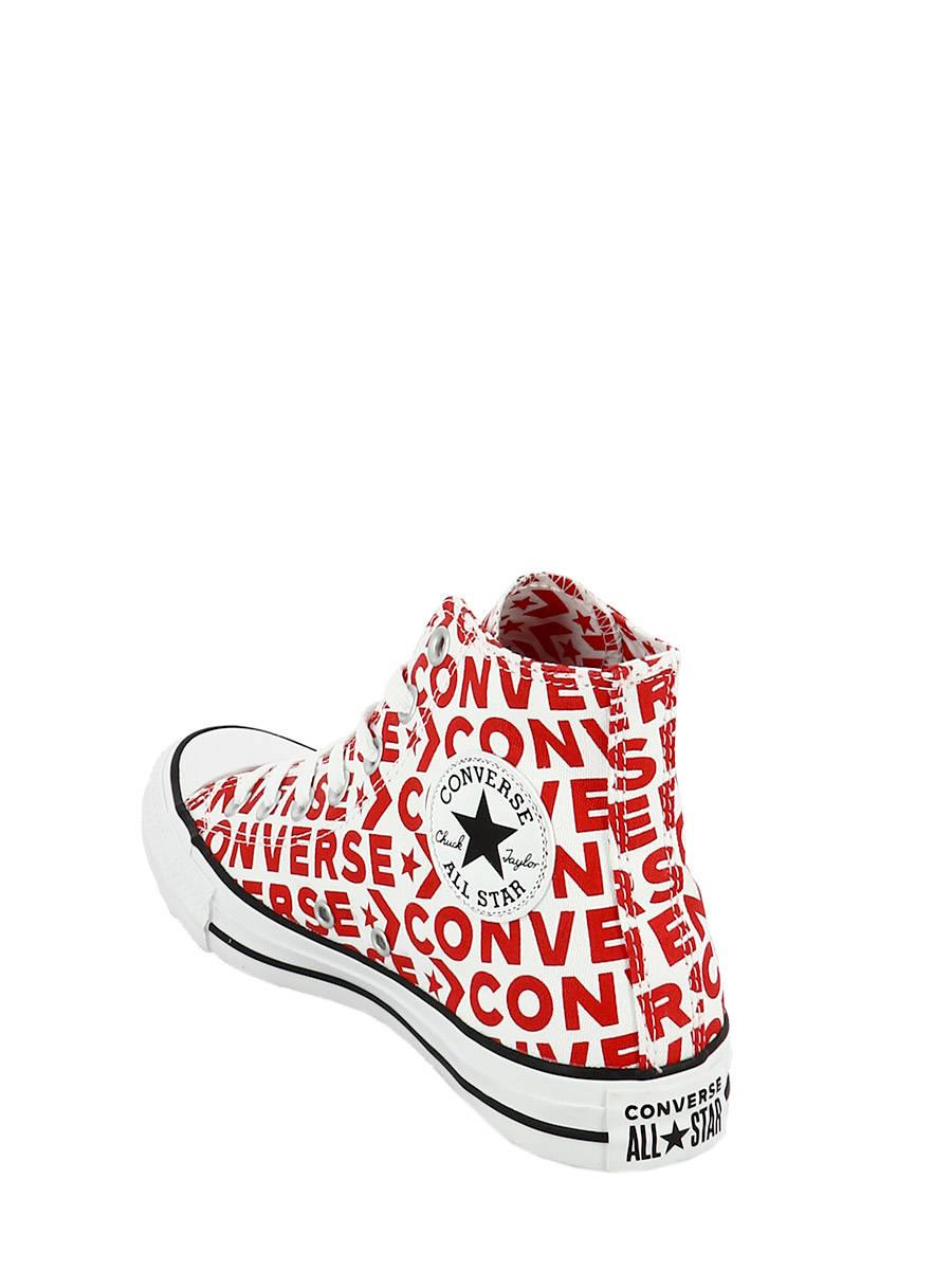 ecde3cc7bdbb Converse Sneakers CTAS HI WHT RED - best prices