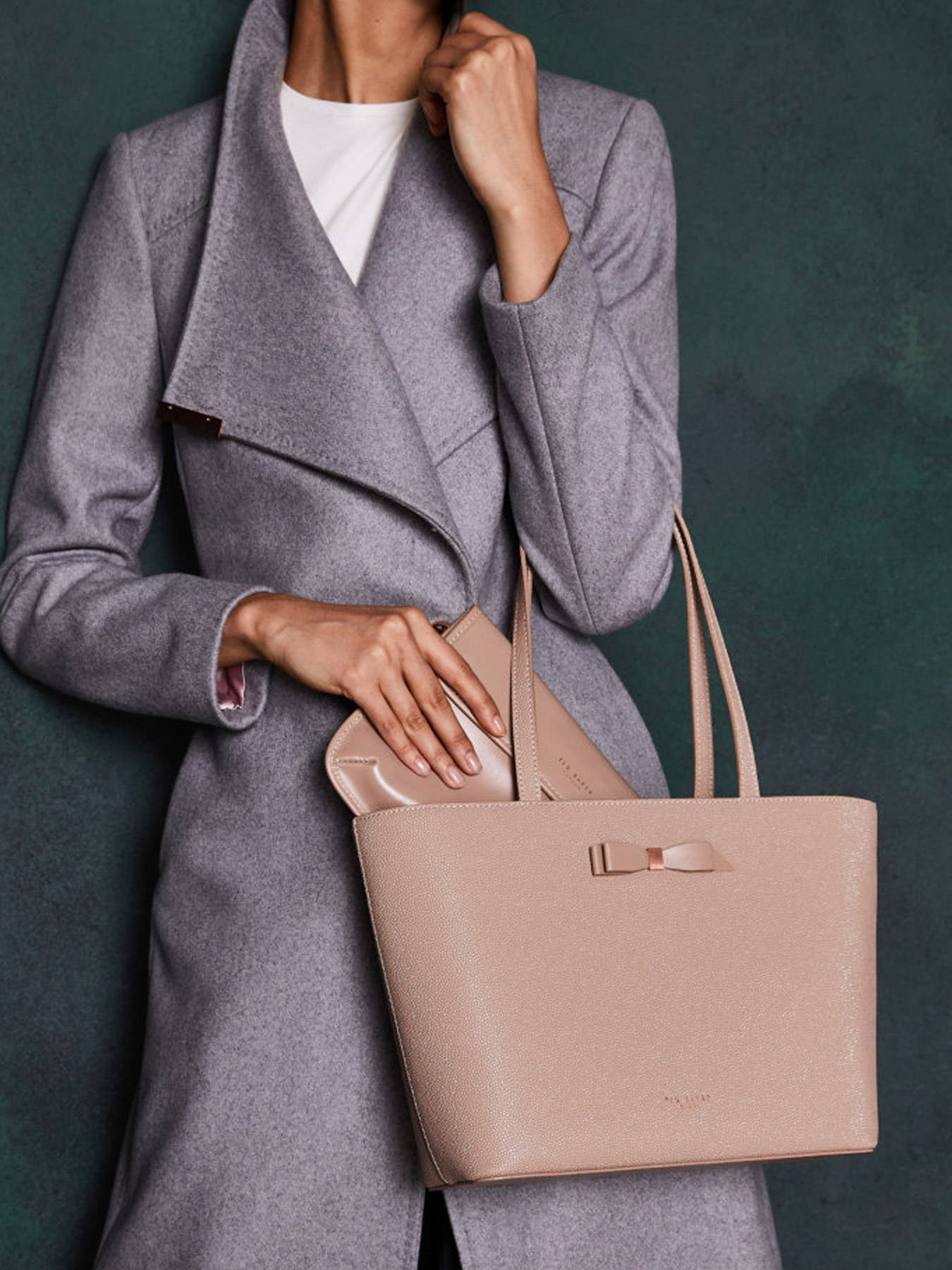 efd3fd7d9 ... Shoulder Bag Bow Detail Ted baker Black bow detail JJESICA other view 3  ...
